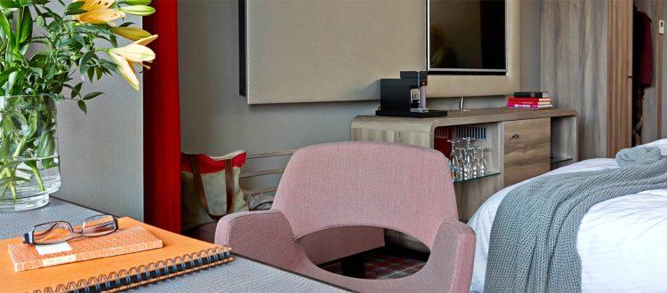 Schreibtisch Doppelzimmer deluxe